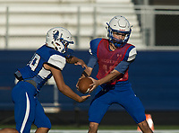 NWA Democrat-Gazette/BEN GOFF @NWABENGOFF<br /> Rogers holds practice Friday, Aug. 11, 2017, at Whitey Smith Stadium in Rogers.