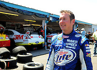 Apr 17, 2009; Avondale, AZ, USA; NASCAR Sprint Cup Series driver Kurt Busch during practice for the Subway Fresh Fit 500 at Phoenix International Raceway. Mandatory Credit: Mark J. Rebilas-
