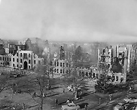 Old Main After Fire (© Mississippi State University)
