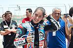 CEV Repsol en Motorland / Aragón <br /> a 08/06/2014 <br /> En la foto :<br /> moto3 races<br /> maria herrera<br />RM/PHOTOCALL3000