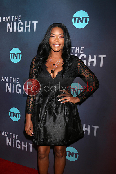 """Golden Brooks<br /> at the """"I Am The Night"""" Premiere, Harmony Gold Theater, Los Angeles, CA 01-24-19<br /> David Edwards/DailyCeleb.com 818-249-4998"""