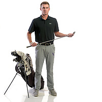 NWA Democrat-Gazette/ANDY SHUPE<br /> Fisher Volendorf of Fayetteville is the Northwest Arkansas Democrat-Gazette Large School Golfer of the Year. Wednesday, Dec. 13, 2017.