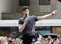 NEW YORK, NY June 01: Shawn Mendes performs on NBC's Today Concert Series on June 01, 2018 in New York City. <br /> CAP/MPI/RW<br /> &copy;RW/MPI/Capital Pictures