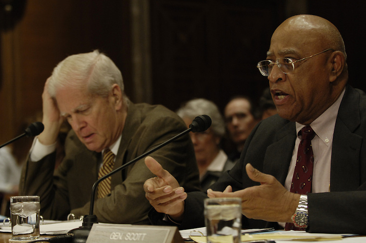 Librarian of Congress James Billington and Donald L. Scott Deputy Librarian Of Congress testifie before the Legislative Branch Subcommittee hearing on the proposed FY2007 budget for the Library of Congress, the Open World Leadership Council and the Government Accountability Office..