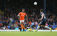 Blackpool's Joe Nuttall and Southend United's Harry Lennon<br /> <br /> Photographer Rob Newell/CameraSport<br /> <br /> The EFL Sky Bet Championship - Southend United v Blackpool - Saturday 10th August 2019 - Roots Hall - Southend<br /> <br /> World Copyright © 2019 CameraSport. All rights reserved. 43 Linden Ave. Countesthorpe. Leicester. England. LE8 5PG - Tel: +44 (0) 116 277 4147 - admin@camerasport.com - www.camerasport.com