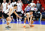 KENOSHA, WI - APRIL 28:  Springfield College's Sergio Figuroa Velez digs a ball at the Division III Men's Volleyball Championship held at the Tarble Athletic and Recreation Center on April 28, 2018 in Kenosha, Wisconsin. (Photo by Steve Woltmann/NCAA Photos via Getty Images)