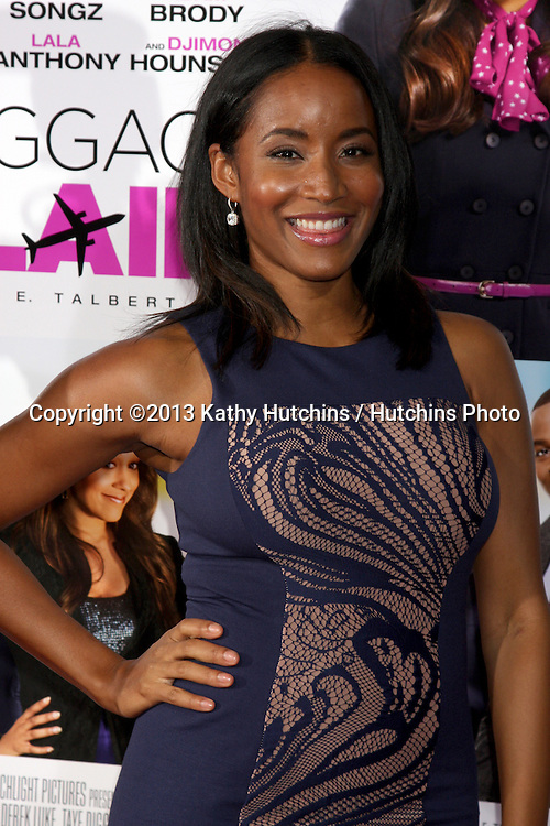 """LOS ANGELES - SEP 25:  Faune Chambers Watkins at the """"Baggage Clain"""" Premiere at Regal 14 Theaters on September 25, 2013 in Los Angeles, CA"""