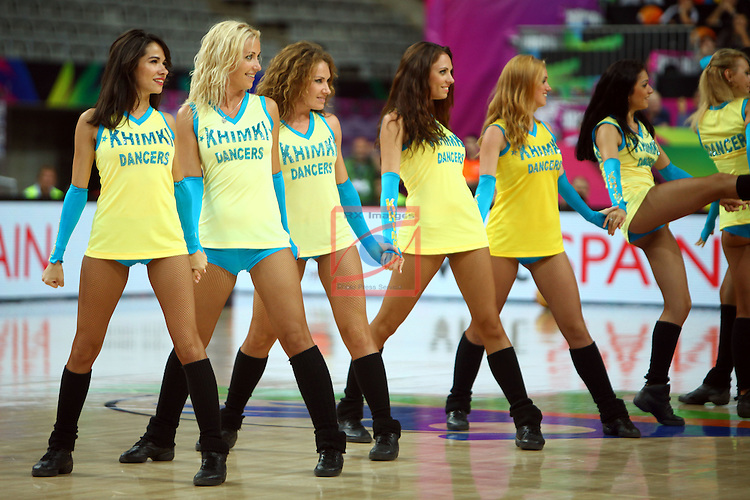 2014 FIBA Basketball World Cup-Round of 16.<br /> Dominican Republic vs Slovenia: 61-71.<br /> Khimki Dancers.