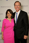 Maria and Neil Bush at the VIP Reception for the Celebration of Reading event at the Hobby Center Thursday  April 21,2016(Dave Rossman Photo)