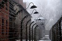 AUSCHWITZ / POLONIA - 27 GEN.2011.CAMPO DI STERMINIO NAZISTA..FOTO LIVIO SENIGALLIESI