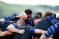 A general view of Bath Rugby forwards. Bath Rugby pre-season training on August 14, 2018 at Farleigh House in Bath, England. Photo by: Patrick Khachfe / Onside Images