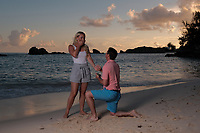 Ryan and Kristi proposal at the Fairmont