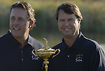 USA Team Photo with Captain Paul Azinger flanked by Phil Mickelson for the 37th Ryder Cup at Valhalla Golf Club, Louisville, Kentucky, USA, 17th September 2008 (Photo by Eoin Clarke/GOLFFILE)
