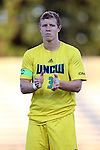 15 September 2015: UNCW's Michael Mecham. The Duke University Blue Devils hosted the University of North Carolina Wilmington Seahawks at Koskinen Stadium in Durham, NC in a 2015 NCAA Division I Men's Soccer match. UNCW won the game 3-0.