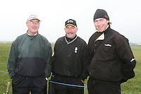 Joe McLoughlin, Kevin Walsh and Barney Reilly at the 3 Irish Open Golf in Baltray...Photo NEWSFILE/Jenny Matthews.(Photo credit should read Jenny Matthews/NEWSFILE)....This Picture has been sent you under the condtions enclosed by:.Newsfile Ltd..The Studio,.Millmount Abbey,.Drogheda,.Co Meath..Ireland..Tel: +353(0)41-9871240.Fax: +353(0)41-9871260.GSM: +353(0)86-2500958.email: pictures@newsfile.ie.www.newsfile.ie.FTP: 193.120.102.198.