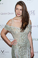 "WEST HOLLYWOOD, CA, USA - FEBRUARY 27: Nathalia Ramos at the 5th Anniversary Celebration Of Suzy Amis Cameron's Ecofashion Campaign ""Red Carpet Green Dress"" held at Palihouse on February 27, 2014 in West Hollywood, California, United States. (Photo by David Acosta/Celebrity Monitor)"