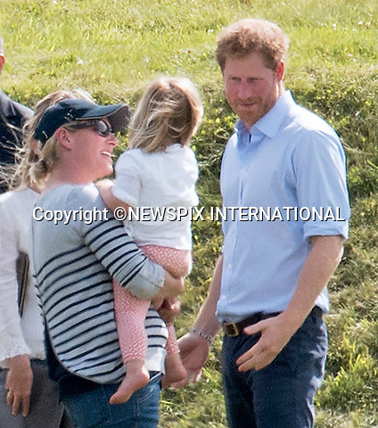 18.06.2016; Westonbirt, UK: PRINCE HARRY BROODY<br />