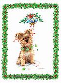 GIORDANO, CHRISTMAS ANIMALS, WEIHNACHTEN TIERE, NAVIDAD ANIMALES, paintings+++++,USGI2239M,#XA#