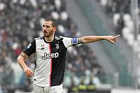 Leonardo Bonucci of Juventus<br /> Torino 1-12-2019 Juventus Stadium <br /> Football Serie A 2019/2020 <br /> Juventus FC - US Sassuolo 2-2 <br /> Photo Giuliano Marchisciano / Insidefoto
