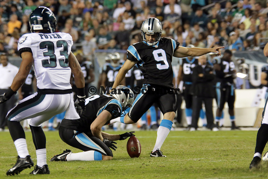 Field Goal von K Graham Gano (Panthers) - Philadelphia Eagles vs. Carolina Panthers, Lincoln Financial Field