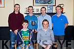 The Maine Valley AC mens cross country at the Maine Valley AC awards night in Sherwoods bar on Friday night front l-r: David kenny Arthur Fitzgerald, back: Jerome Foley, George McCarthy, Brendan Lynch and Sean O'Shea