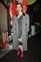 Lara Bohinc at the Annabel's Chinese New Year party, Annabel's, Berkeley Square, London, England, UK, on Tuesday 05th February 2019.<br /> CAP/CAN<br /> &copy;CAN/Capital Pictures