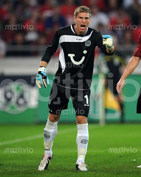 FUSSBALL   EUROPA LEAGUE   SAISON 2011/2012   Play-offs Hannover 96 - FC Sevilla                    18.12.2010 Torwart Ron Robert ZIELER (Hanover)