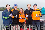 The Fenit RC Senior Ladies took third place at the OTW Regatta in Cahersiveen on Sunday pictured l-r; Bríd O'Driscoll, Pat O'Connor(cox), Tara O'Halloran, Edel O'Sullivan & Paula Moloney.