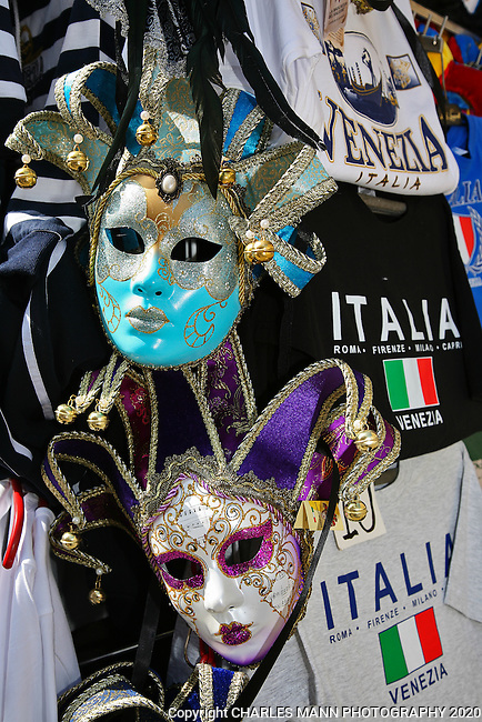 Venice is a World Heritage site that is perpetually filled with visitors from around the world. Carnivale masks and colorful costumes is just part of the allure lf Venice.