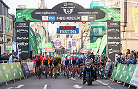 Picture by Allan McKenzie/SWpix.com - 17/05/2018 - Cycling - OVO Energy Tour Series Mens Race Round 3:Aberdeen - The mens race rolls out.