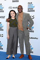 LOS ANGELES - FEB 23:  Barry Jenkins, Guest at the 2019 Film Independent Spirit Awards on the Beach on February 23, 2019 in Santa Monica, CA