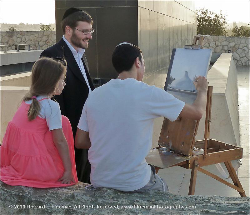 Artist at Work, Israel Museum