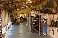 Europe/France/Aquitaine/47/Lot-et-Garonne/Granges-sur-Lot : Musée du pruneau - Les Fours pour le séchage