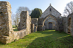 Church of Saint Leonard, Sutton Veny, Wiltshire, England, UK