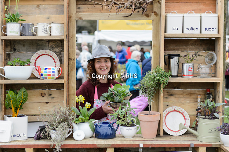Grow, Cook, Eat. Designed by Anthony Slaughter. RHS Flower Show Cardiff 2016.
