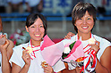 (L to R) Ai Tsuchiya (JPN), Shiori Yamamoto (JPN), SEPTEMBER 18, 2011 - Rowing : The 89th All Japan Rowing Championships during the Race A final of Women's Double Sculls at the Toda Olympic Rowing Course, Saitama, Japan. (Photo by Jun Tsukida/AFLO SPORT) [0003]