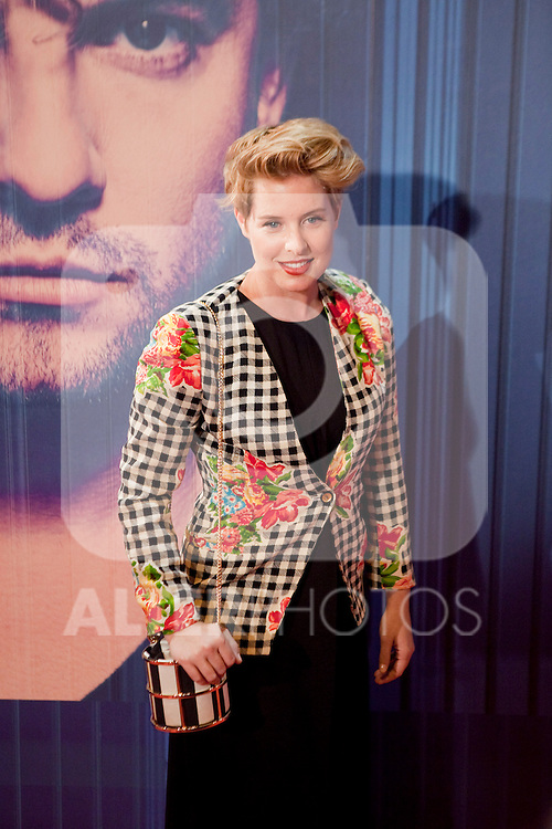 Spanish singer Tania Llasera attends David Bisbal´s new music album premiere photocall at Callao cinema in Madrid, Spain. March 17, 2014. (ALTERPHOTOS/Victor Blanco)