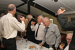 Court Leet, Watchet Somerset UK 2014. Drinking a loyal toast with a punch made from a secret receipt. Annually held on the last Thursday in October at the Bell Inn.