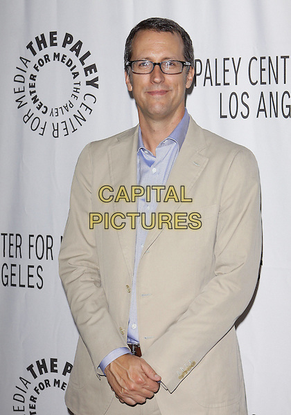 GREG WALKER .PaleyFest: Fall2010 TV Preview CBS Party  held at The Paley Center for Media, Beverly Hills, California, USA, 10th September..half length beige suit glasses blue shirt .CAP/ADM/TC.©T. Conrad/AdMedia/Capital Pictures.