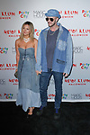 Vanessa Ray and Jake Wilson arrive at Heidi Klum's 18th Annual Halloween Party presented by Party City and SVEDKA Vodka at Magic Hour Rooftop Bar & Lounge at Moxy Times Square, on October 31, 2017.