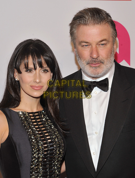 New York,NY-November 2: Hilaria Baldwin, Alec Baldwin attend Elton John AIDS Foundation's 14th Annual An Enduring Vision Benefit at Cipriani Wall Street on November 2, 2015 in New York City.. <br /> CAP/MPI/STV<br /> &copy;STV/MPI/Capital Pictures
