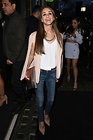 Nikki Grahame arriving for James Ingham's Jog on to Cancer 2018 at Cafe de Paris, London, UK. <br /> 04 April  2018<br /> Picture: Steve Vas/Featureflash/SilverHub 0208 004 5359 sales@silverhubmedia.com