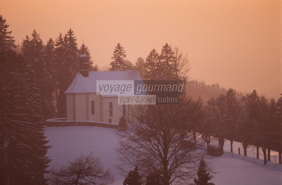 Europe/Allemagne/Forêt Noire/Saint-Margen : Chapelle