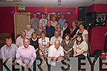 Fantastic 50: A surprise birthday party for Kathleen Dillane, Templeglantine, was held at Jack Foley's Bar, Abbeyfeale on Friday night. Front l-r: Sean O' Donoghue, Mike Tuinane and Joe Barrett. Seated l-r: Pat and Eileen Barrett, Kathleen Dillane, Danny O' Sullivan, Peggy and Aimee Tierney. 3rd Standing l-r:  Sheila Dillane, Sadie Flynn, John and Joan Barrett, Patsy Roche, Nora Guinane and Sheila Mae o' Sullivan Back l-r: Ian Dillane, Gerard Barrett, Nuala Tierney and Maura Buckley.