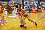 Catalunya vs Montenegro: 83-57.<br /> Sladjana Rakovic vs Helena Oma.