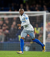 Ademola Lookman of Everton during the Carabao Cup round of 16 match between Chelsea and Everton at Stamford Bridge, London, England on 25 October 2017. Photo by Andy Rowland.