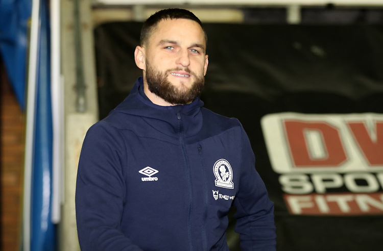 Blackburn Rovers' Craig Conway<br /> <br /> Photographer Rachel Holborn/CameraSport<br /> <br /> The EFL Sky Bet Championship - Wigan Athletic v Blackburn Rovers - Wednesday 28th November 2018 - DW Stadium - Wigan<br /> <br /> World Copyright © 2018 CameraSport. All rights reserved. 43 Linden Ave. Countesthorpe. Leicester. England. LE8 5PG - Tel: +44 (0) 116 277 4147 - admin@camerasport.com - www.camerasport.com