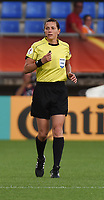 20170721 - TILBURG , NETHERLANDS : referee Kateryna Monzul pictured during the female soccer game between Germany and Italy  , the second game in group B at the Women's Euro 2017 , European Championship in The Netherlands 2017 , Friday 21 th June 2017 at Stadion Koning Willem II  in Tilburg , The Netherlands PHOTO SPORTPIX.BE | DIRK VUYLSTEKE