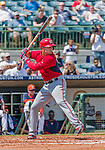 20 March 2015: Washington Nationals outfielder Danny Espinosa in Spring Training action against the Houston Astros at Osceola County Stadium in Kissimmee, Florida. The Nationals defeated the Astros 7-5 in Grapefruit League play. Mandatory Credit: Ed Wolfstein Photo *** RAW (NEF) Image File Available ***