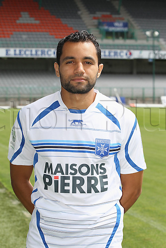 01.08.2013. Auxerre, France. Official Club photoshoot portait for season 2013-14.  (Auxerre)  Jamel Ait Ben Idir